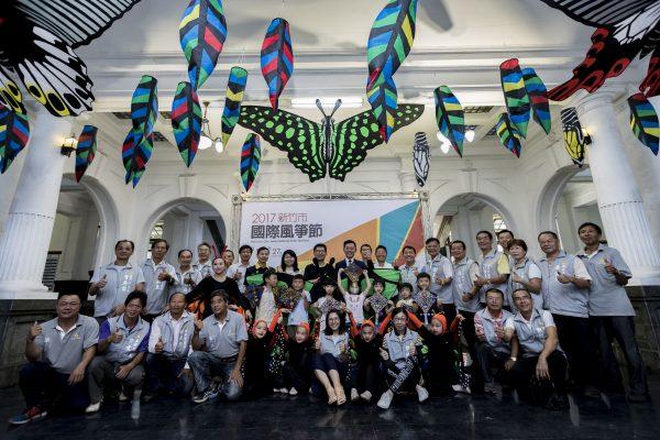 2017國際風箏節將在新竹漁港舉行。(林寶雲/大紀元)