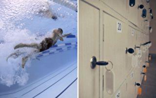 把寶寶鎖入儲物櫃去游泳 粵夫妻:鑰匙呢?
