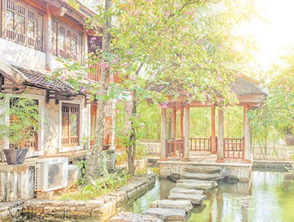 四合院内有许多庭院造景可以发挥,既可享有隐私,又能赏景自娱。(Shutterstock)