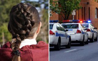 警察爸爸殉职后 她出门上学被眼前大阵仗惊呆