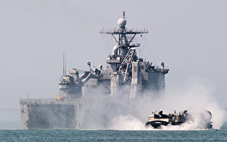 威慑朝鲜 韩国海军举行大规模实弹演习
