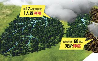 """2017新唐人健康展:当""""雾""""之急 关注肺健康"""