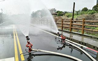 台水挖破中油桃园油管  估午夜前修复