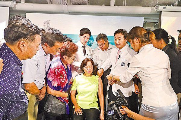 韩国脊椎大师首度来港 20分钟患者重新走路