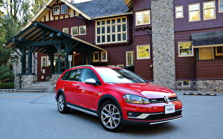 車評:長高了的Golf 2017 Volkswagen Golf Alltrack