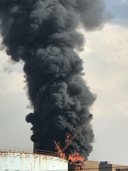 台中火力发电厂火灾 火势控制不影响发电