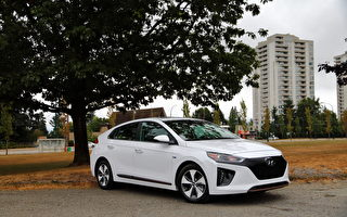 车评:二百公里的续航力 2017 Hyundai Ioniq Electric