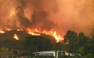 美西罕見熱浪來襲 洛杉磯出現史上最大山火