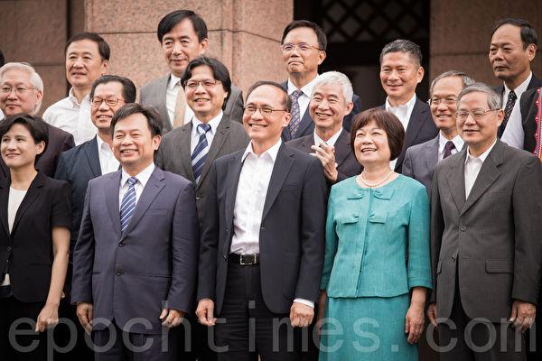 """内阁7日总辞,行政院长林全表示,离开后会抱持""""不在其位、不谋其政""""的原则。(陈柏州/大纪元)"""
