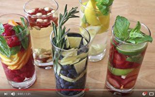 【美食天堂】5種水果維他命水的做法 增強免疫力又美容