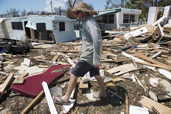 艾瑪災後清點 佛羅里達礁島群25%民宅被毀