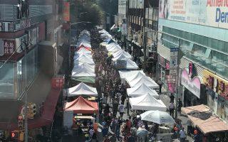 法拉盛商改區街坊節 人氣超去年