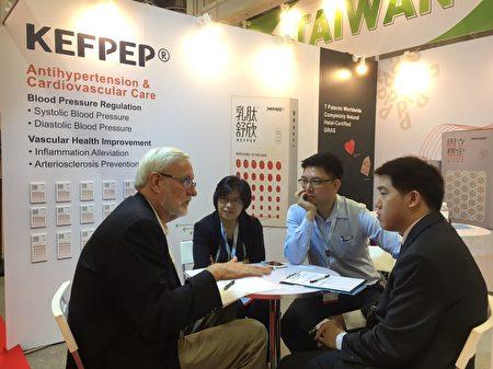 中化健康生技對台灣製造研發能力有信心。(中化健康生技提供)