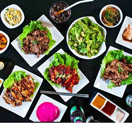 圖:燒烤後的美食。(Breakers Korean BBQ提供)