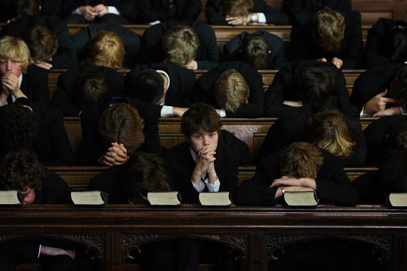伊顿学生( Christopher Furlong/Getty Images)