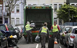 在英国 生活垃圾违规丢 可被罚2500镑