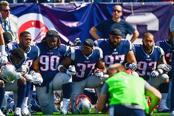不满球员下跪抗议 酒吧停播NFL赛