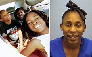 周日(10日)晚上,当局取消了关于新墨西哥州Albuquerque 三兄弟的安珀警报。右图为他们28岁的母亲沃克-安德森(Laria Walker-Anderson)。(警方提供)