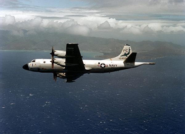 VP-6中队的P-3B猎户座海上巡逻机。(公有领域)