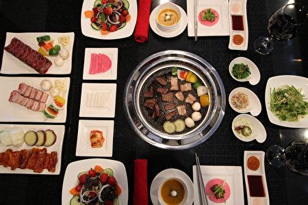 圖:韓國燒烤文化的最佳體驗。(Breakers Korean BBQ提供)