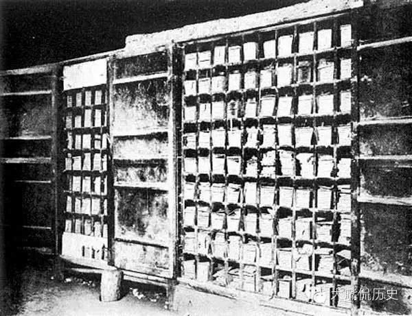 少林寺內的經庫。(公有領域)