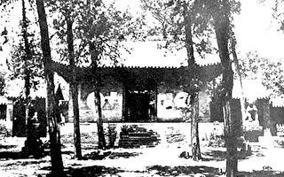 百年前日本人鏡頭下的少林寺 現在再也看不到了