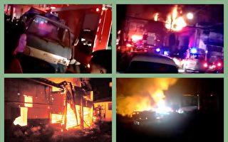 浙江省台州市玉環市小埠村發生一起民房火災,導致11人死亡,12人受傷。(大紀元合成)