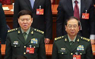 9月8日,美國之音記者致電中共國防部新聞辦,詢問房峰輝(右)和張陽(左)是否正在接受調查。接電話的一名新聞辦參謀表示,需要「向領導請示匯報後才能答覆」。(Lintao Zhang/Getty Images)