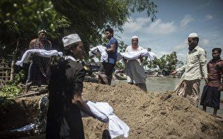 洛兴雅难民船只翻覆 至少12死数十失踪