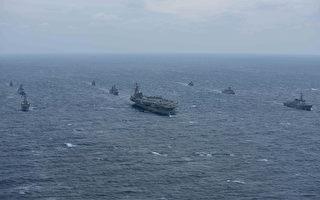 朝鮮懼美韓軍演出狂言 美航母巡航發警告