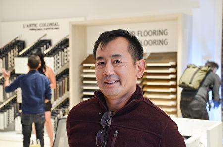 室內設計師Cliff Chen。(大紀元\章德維)