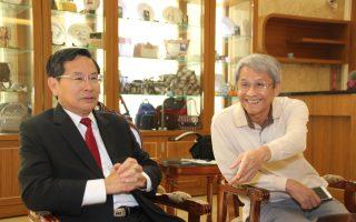 陈澄波画作牵线 日本山口县防府市议员来访