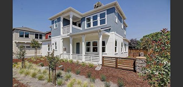 Mountain View新房,Summerhill Homes开发的Tanglewood小区。(湾区房地产经纪Li Jin提供)