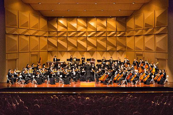 2017年9月30日晚上,神韵交响乐团于台湾彰化市员林演艺厅演出。(陈霆/大纪元)
