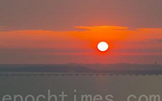組圖:韓國月尾島夕陽美景