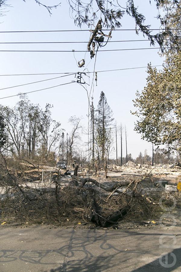 疑设备导致北加州火灾 PG&E股票急跌
