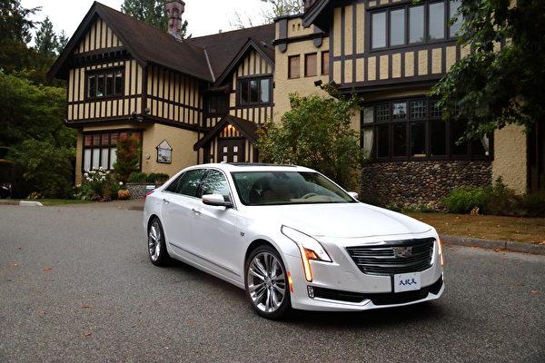 2017 Cadillac CT6。(李奧/大紀元)