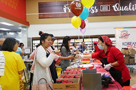 南加州99大华超市韩国食品大促销