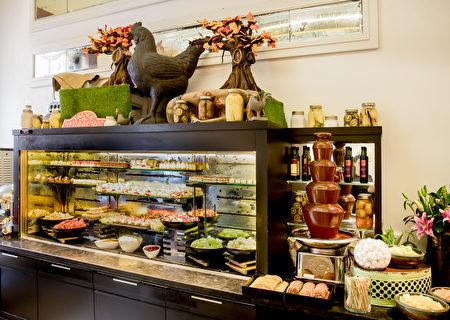 悉尼洲际酒店水果甜点(悉尼洲际酒店提供)