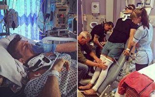 未婚妻信心创奇迹 球星全身瘫痪100天后竟能行走