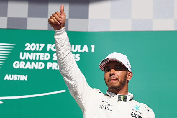 F1美国站:小汉第一 梅奔提前锁定四连冠