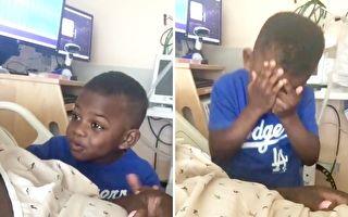 影片:男孩要媽媽從醫院回家 使勁告白「我需要你」
