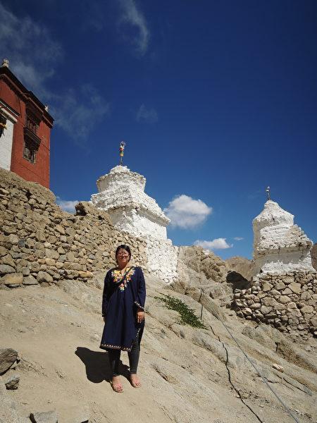 拉达克为藏传佛教文化区,景色和文化都与西藏十分相近。(郑芝薇提供)