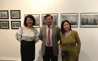 紐約國際攝影藝術展 法拉盛市政廳開幕