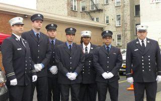 華裔消防員遇害 同事親友悼念不捨