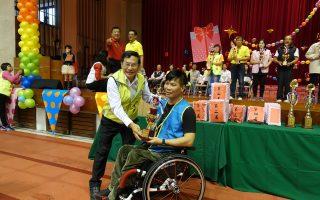 身心障礙者體育活動 嘉市港坪運動公園舉行