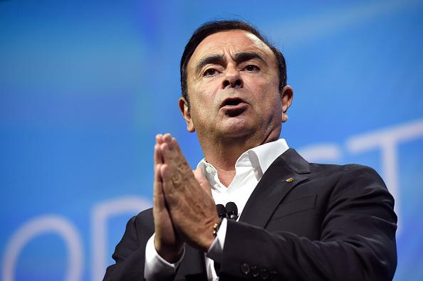 日產汽車「救世主」董事長戈恩(Carlos Ghosn)涉嫌逃漏稅,五年短報50億日圓薪資報酬而遭逮捕。(David Becker/Getty Images)