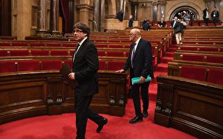 加泰暫擱置獨立 尋求與西班牙政府對話