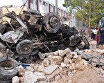 索马里饭店遭炸弹攻击25死 30人质已获救