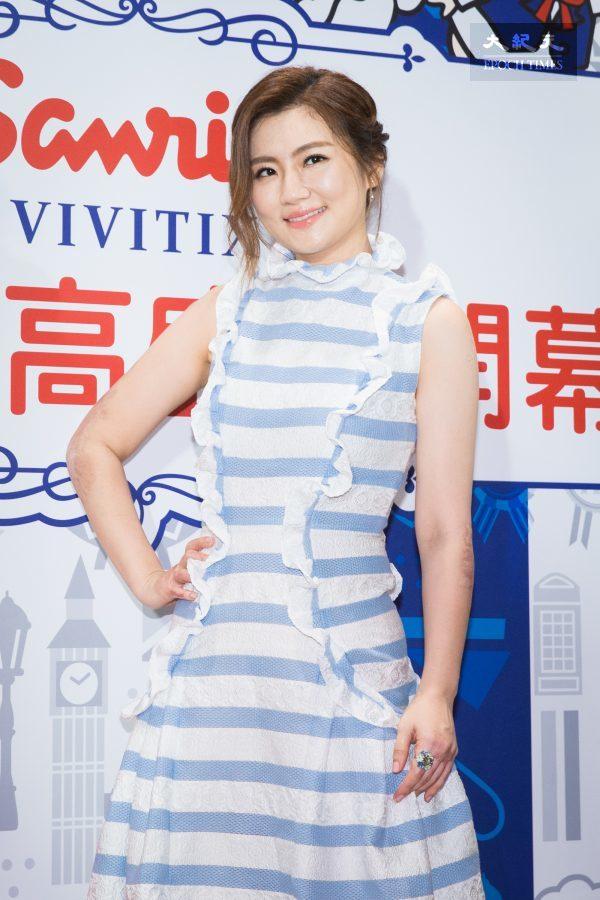 艺人Selina5日出席日系品牌担任一日店长。 (陈柏州)
